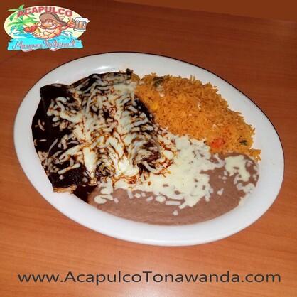 Enchiladas de Mole in Tonawanda New York